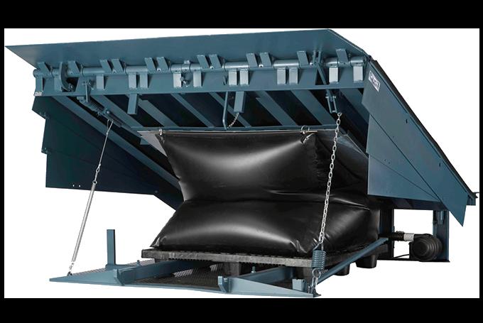 MA Air Powered Dock Leveler